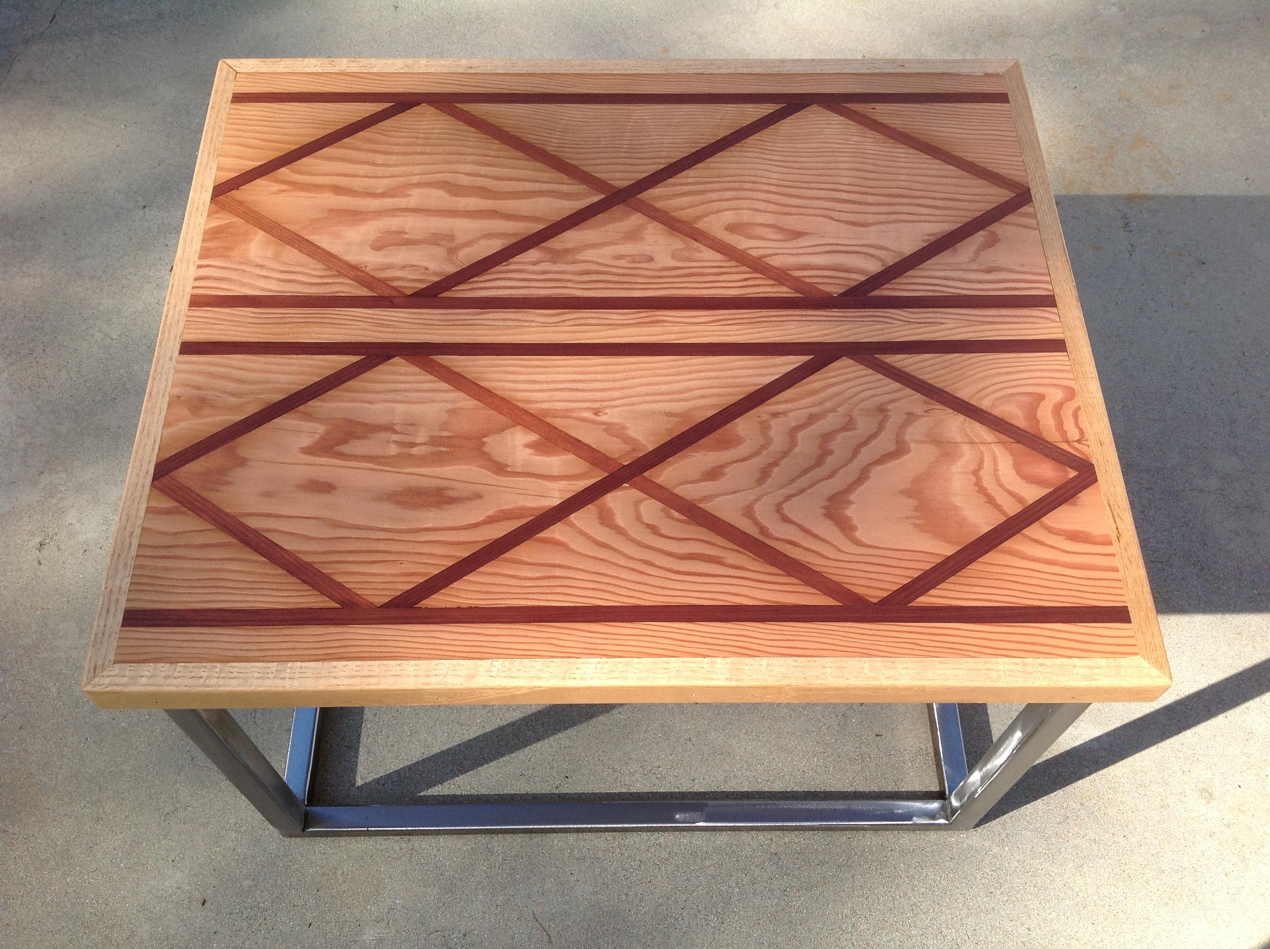 Wood Inlay Top Table Designs : Pdf diy wood inlay plans free bassinet